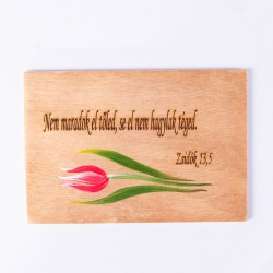Igés tábla /kicsi/ tulipános