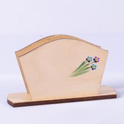Szalvétatartó - kisvirágos